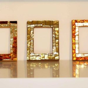 Small Picture Frames - red variation