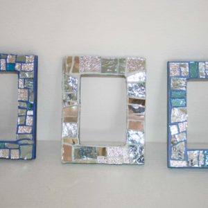 Small Picture Frames - blue varation